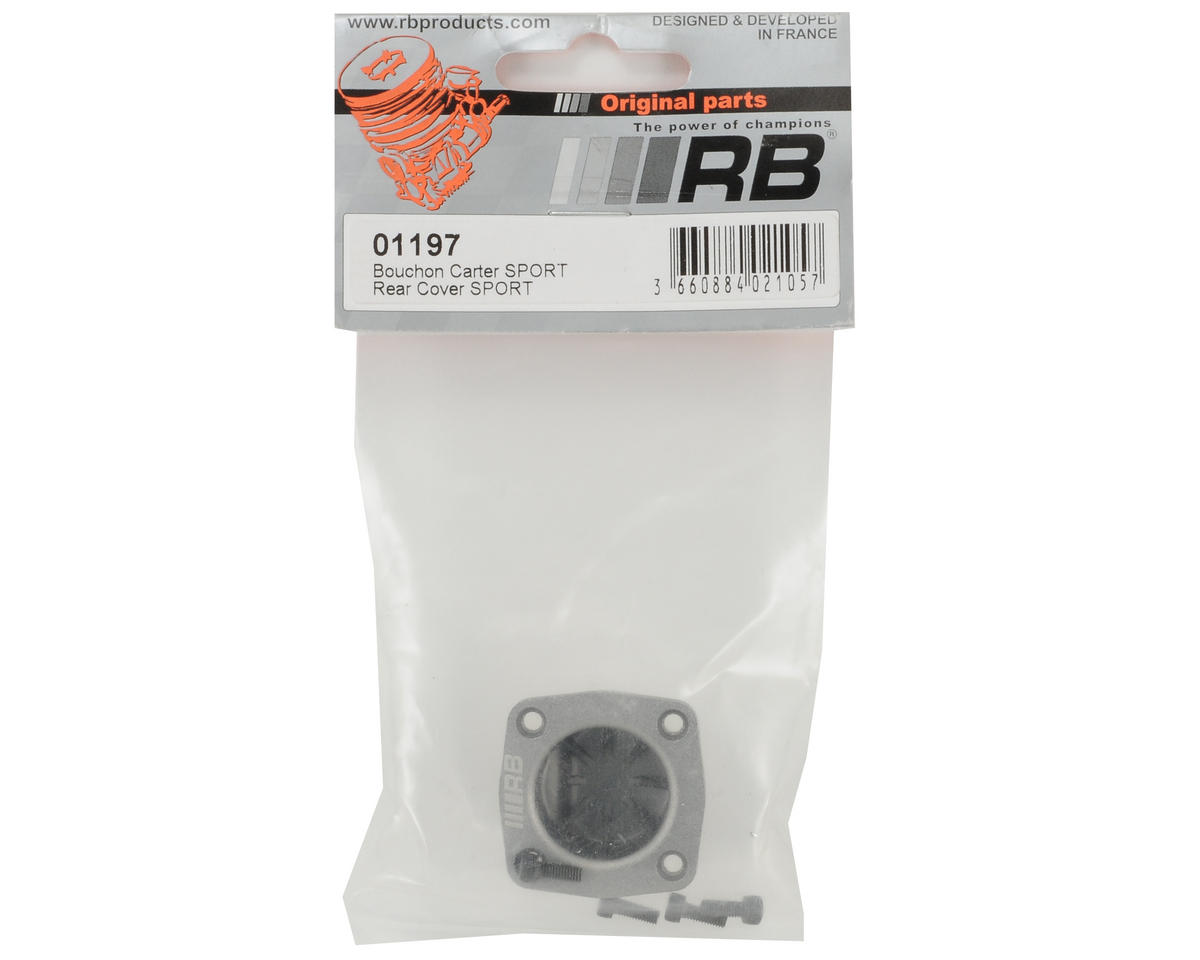 RB Products Rear Cover Plate