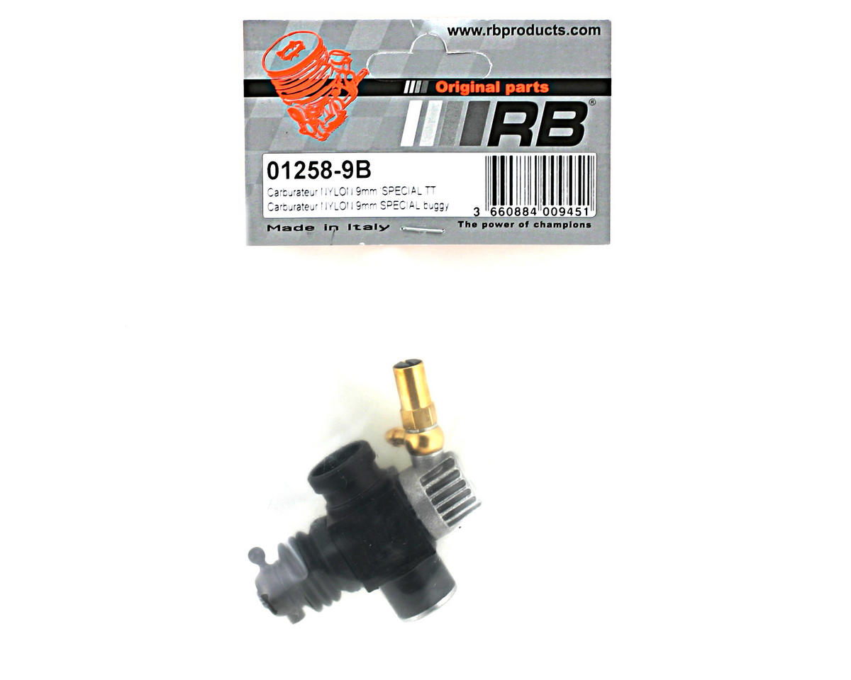 RB Products 9mm Nylon Carburetor-Buggy Style 1)