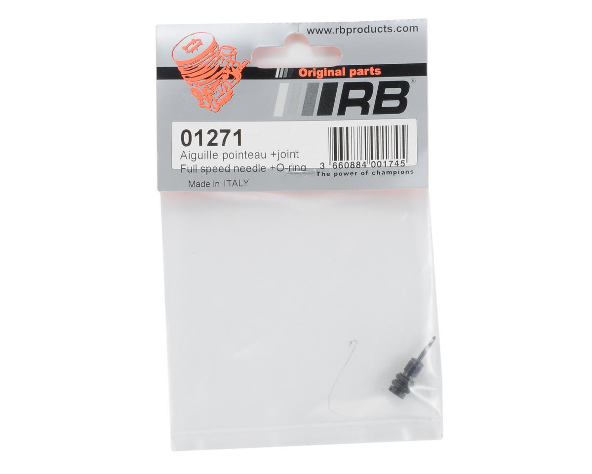 RB Products Carburetor High Speed Needle