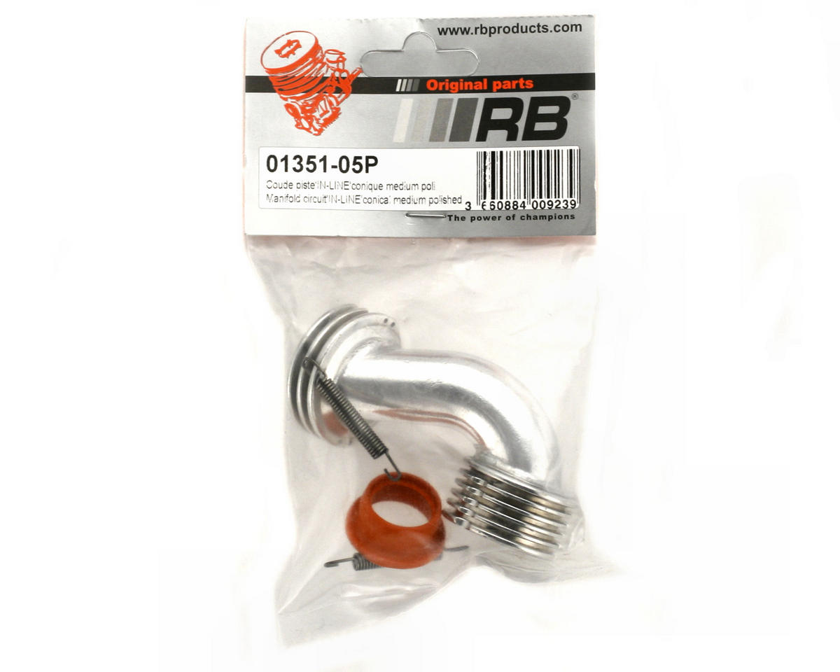 RB Products Conical Inline Medium Manifold (Polished)