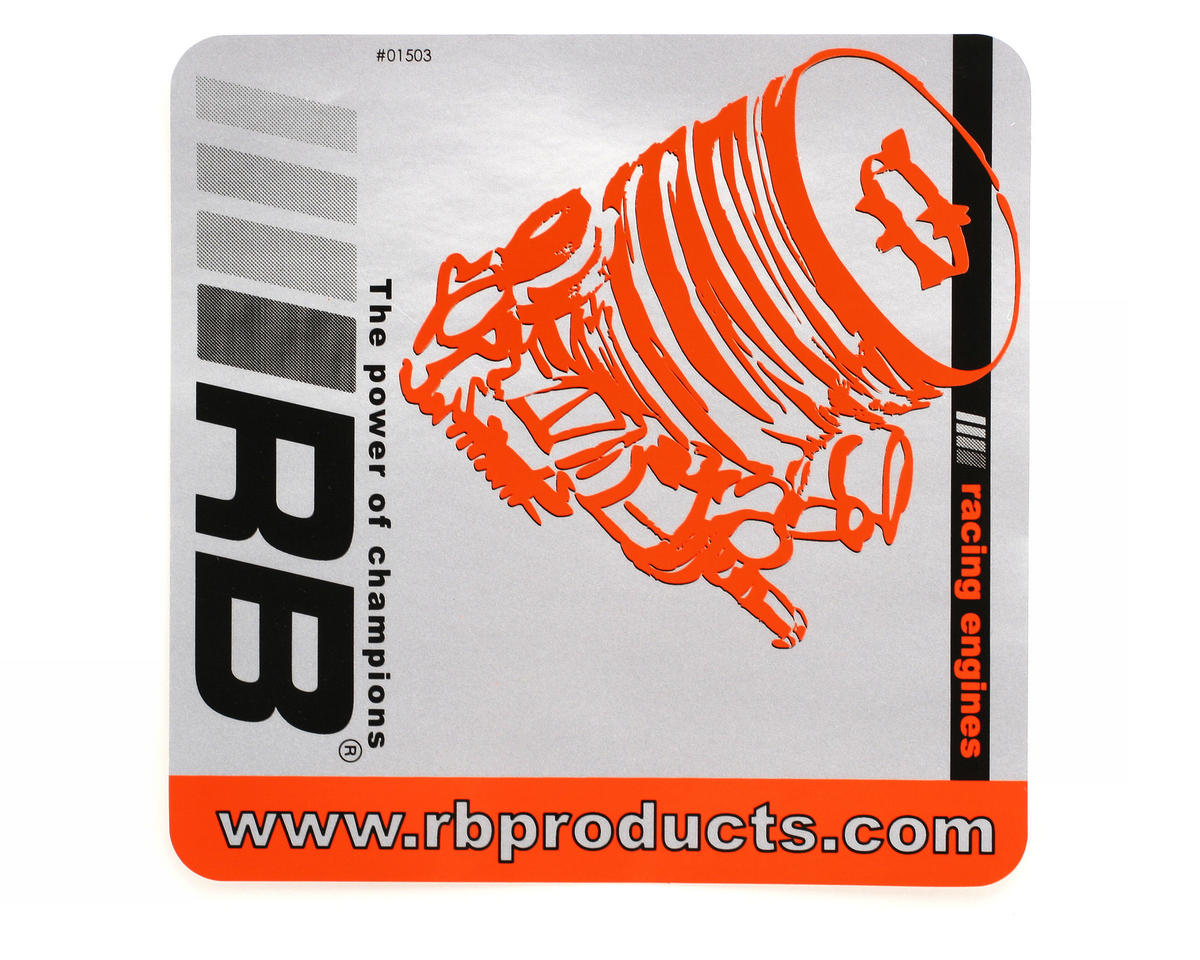 "RB Products ""Team"" Aluminum Sticker"