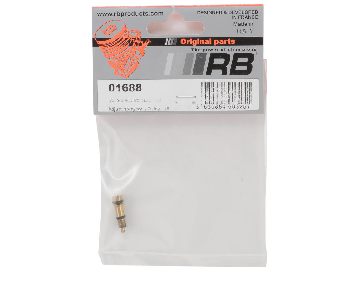 RB Products Carburetor Mid Needle w/O-Rings
