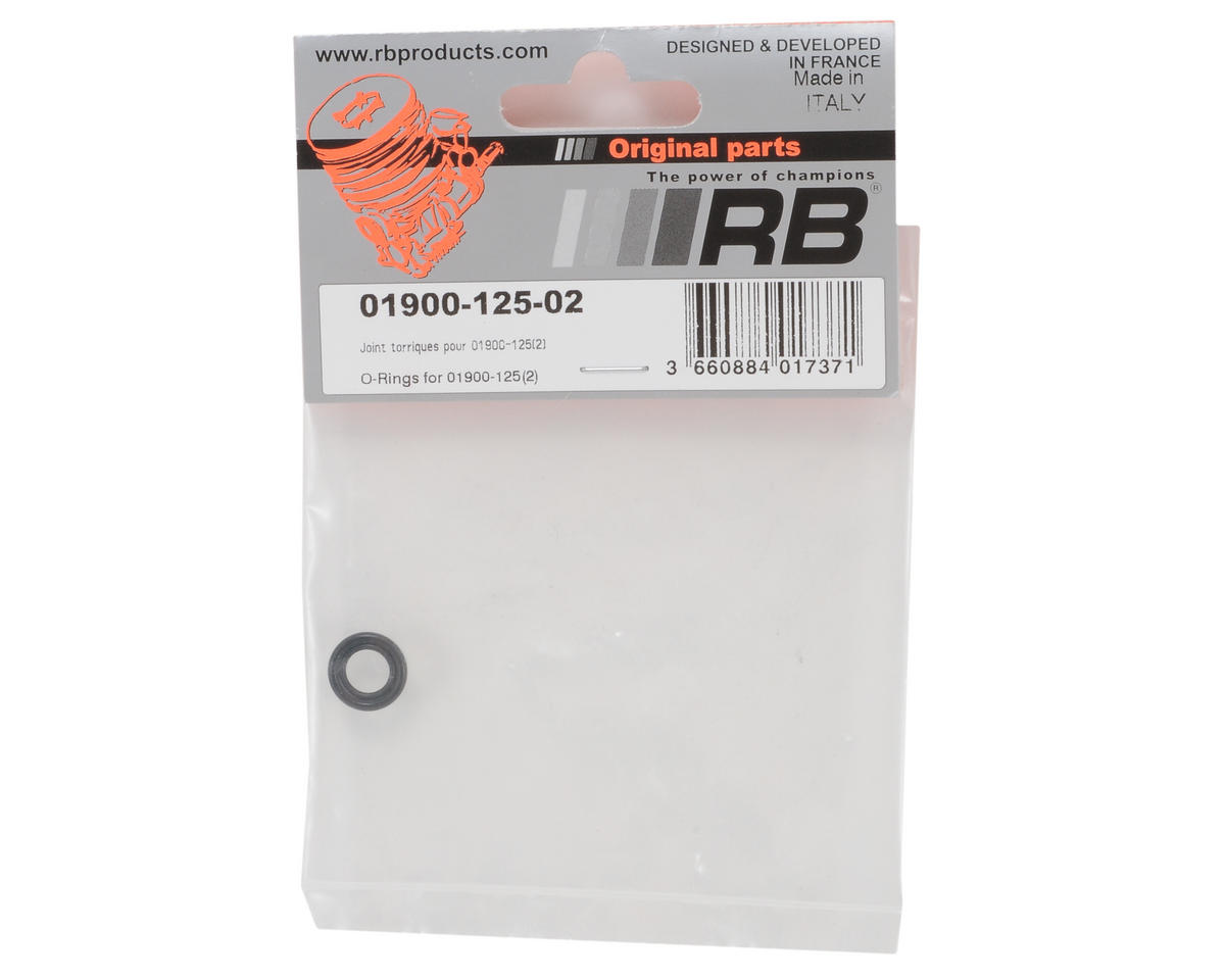 RB Products Back Plate O-Rings