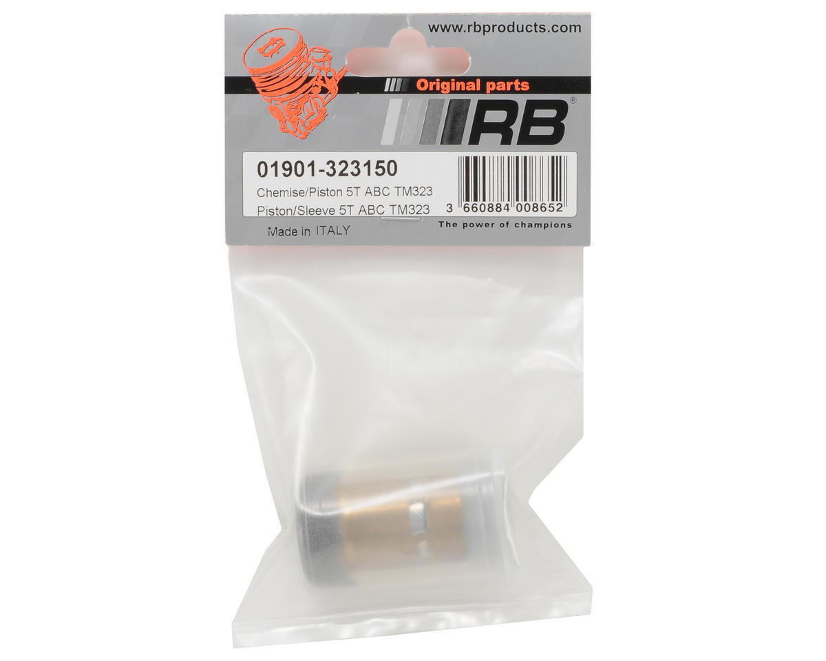 RB Products TM323 Piston/Sleeve Set (1)