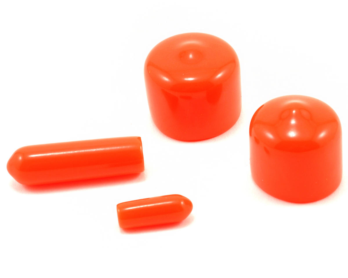 RB Products Dust Protection Cap Set (Orange) (4)