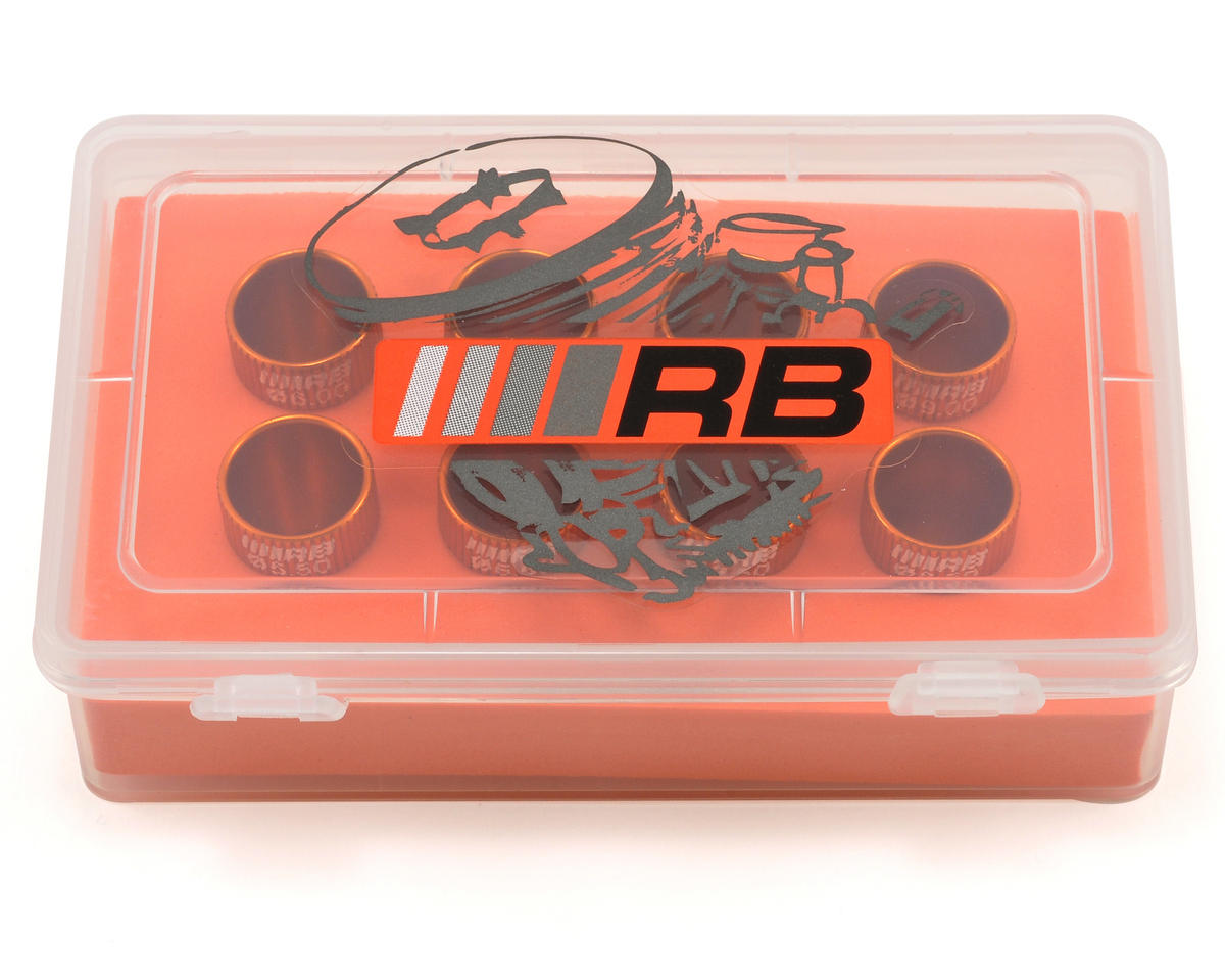 "RB Products ""Xtrem Flux"" Venturi Set (Orange) (8)"