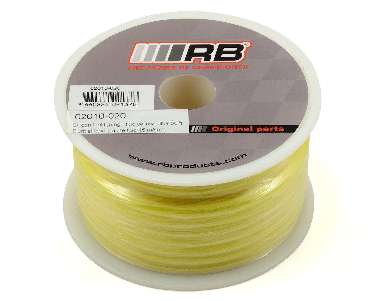 RB Products Silicone Fuel Tubing (Yellow) (1524cm)