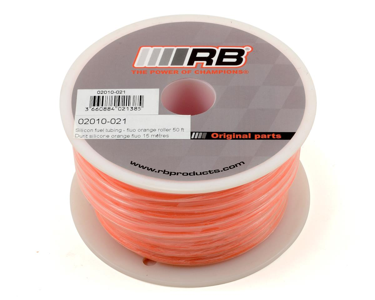 RB Products Silicone Fuel Tubing (Orange) (1524cm)
