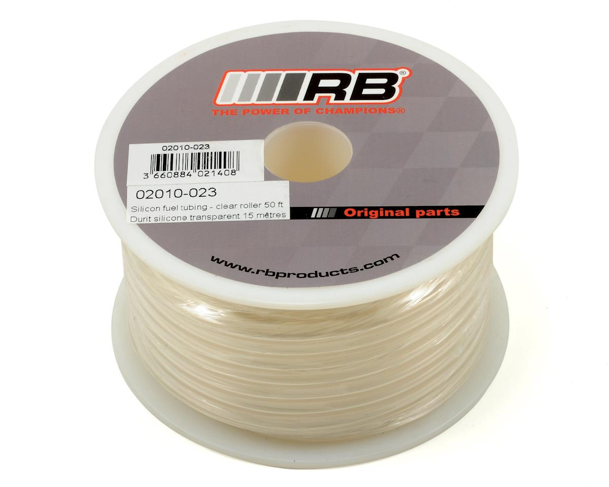 RB Products Silicone Fuel Tubing (Clear) (1524cm)
