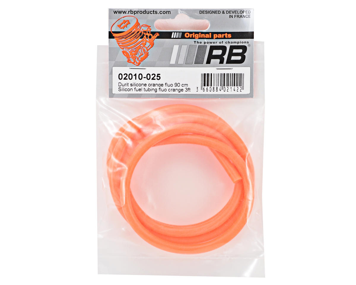 RB Products Silicone Fuel Tubing (Orange) (91cm)