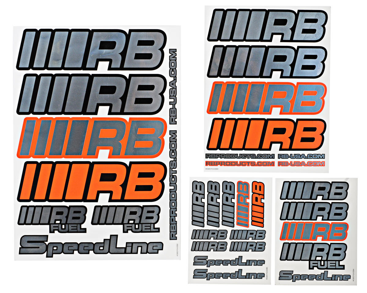 RB Products 2010 Sticker Set (Chrome) (4)