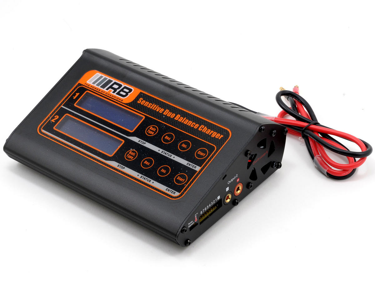 "RB Products Duo ""Sensitive"" DC Charger (8S/7A/150W)"