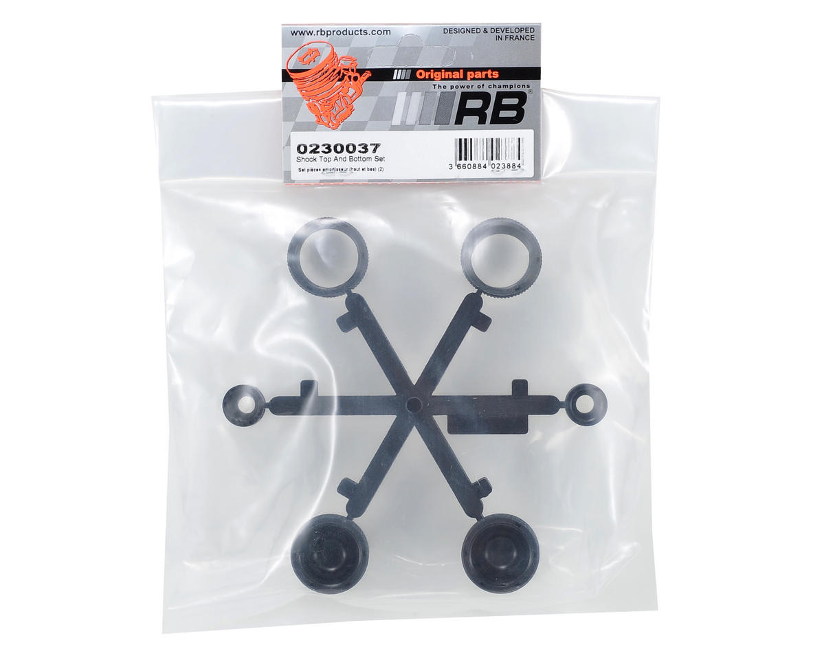 RB Products Shock Top & Bottom Set