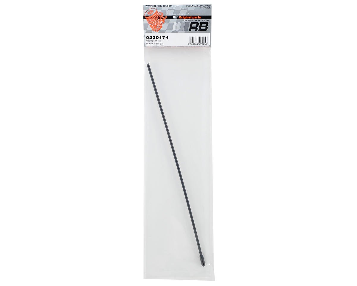 RB Products Antenna Tube w/Cap