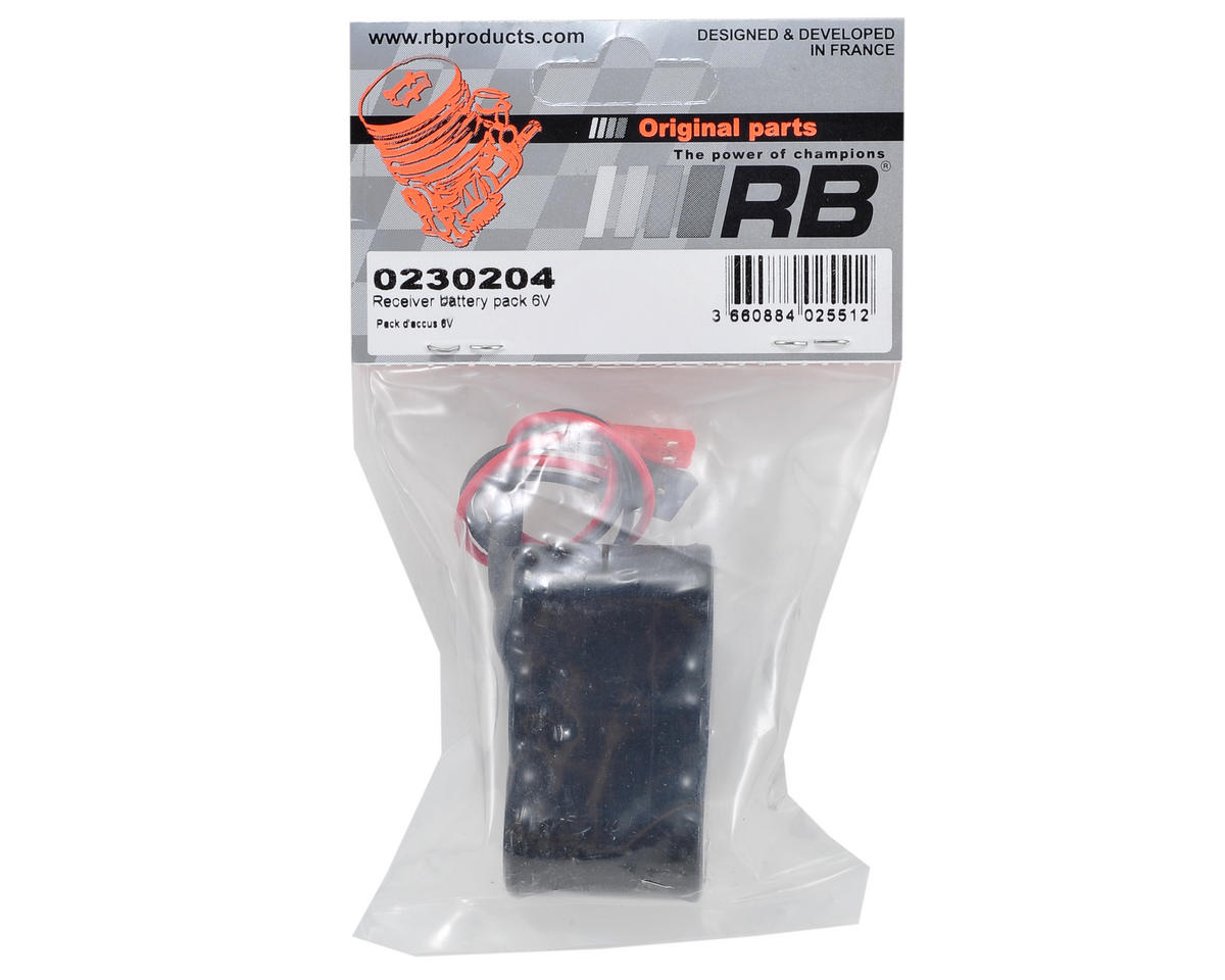 RB Products RB One 6.0 Volt Receiver Pack