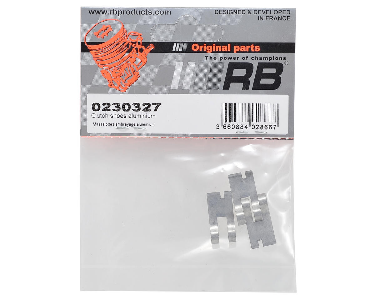 RB Products Aluminum Clutch Shoes (3)
