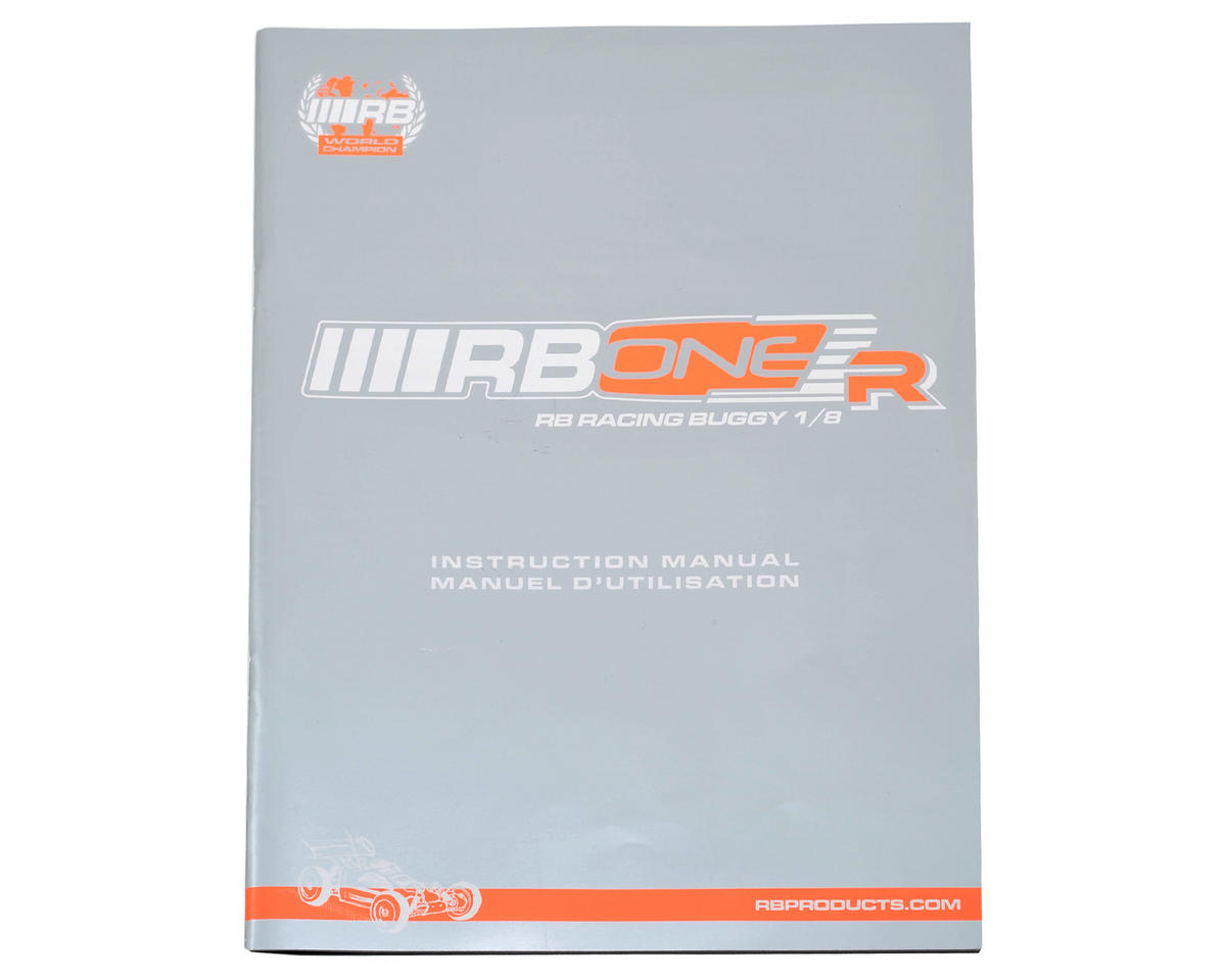 RB Products RB One R Instruction Manual