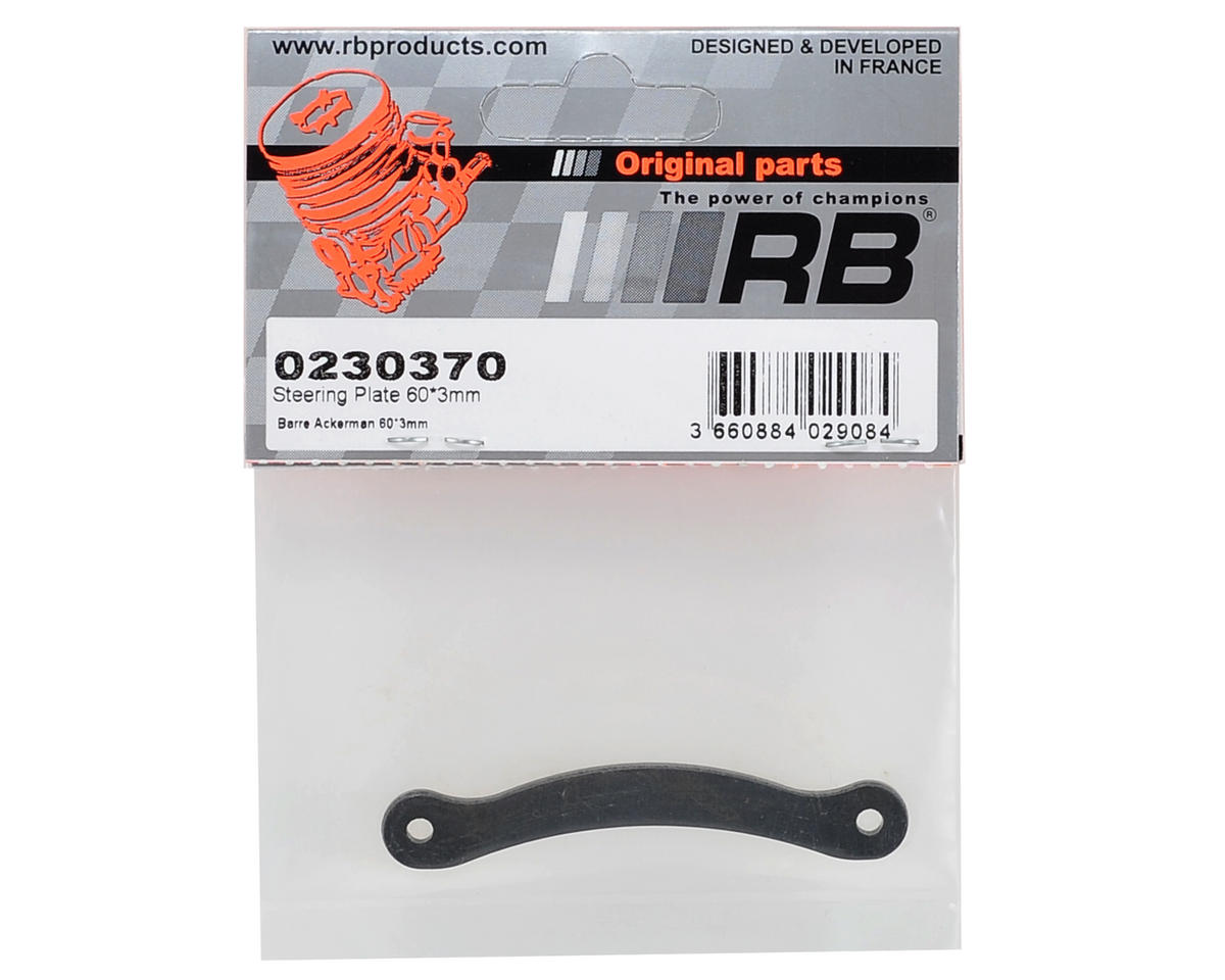 RB Products 60x3mm Steering Plate