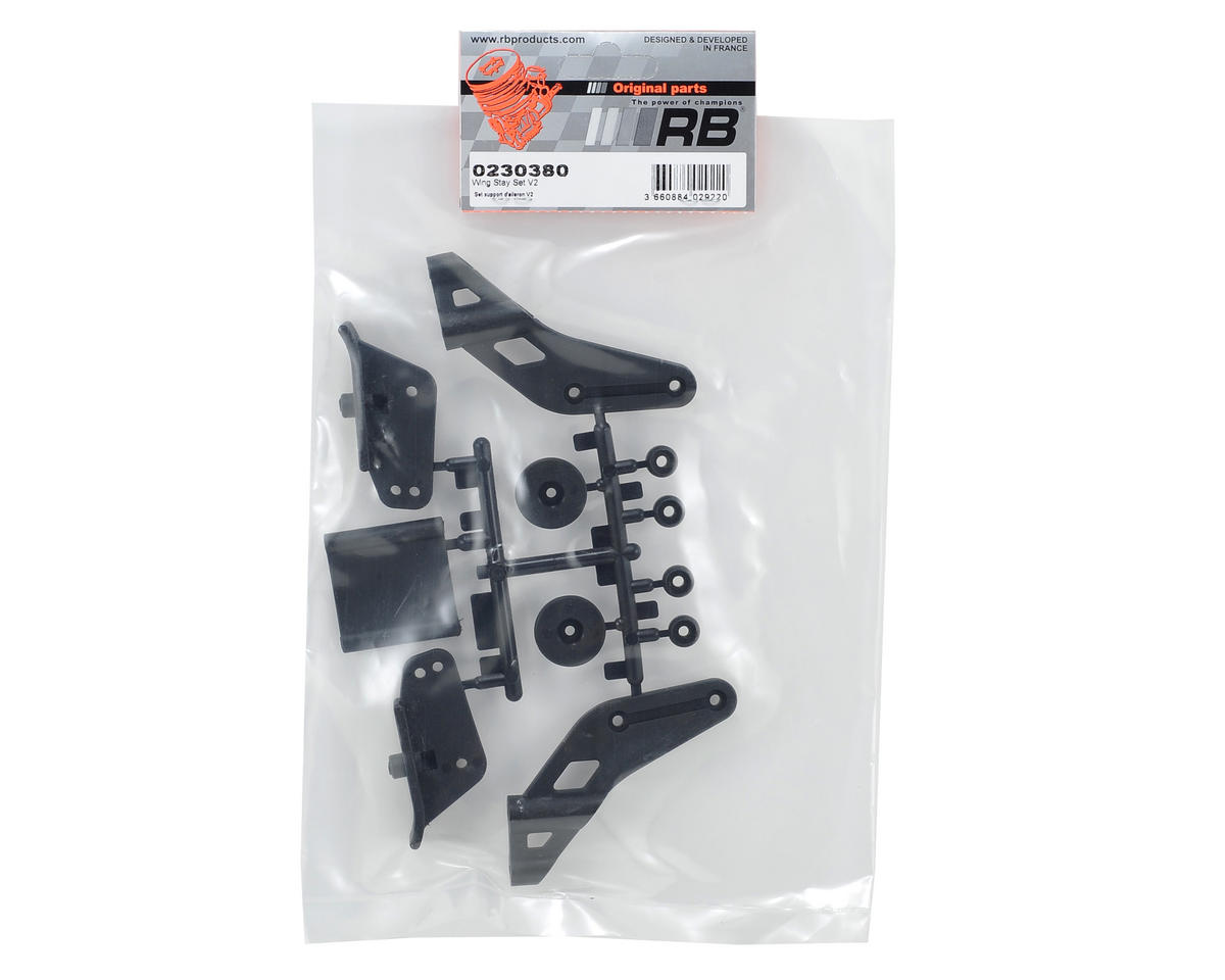 RB Products V2 Wing Stay Set