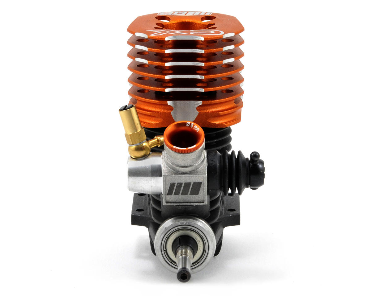 RB Products CX .21 9-Port Competition On Road Engine w/2092 Tuned Pipe (Turbo Plug)