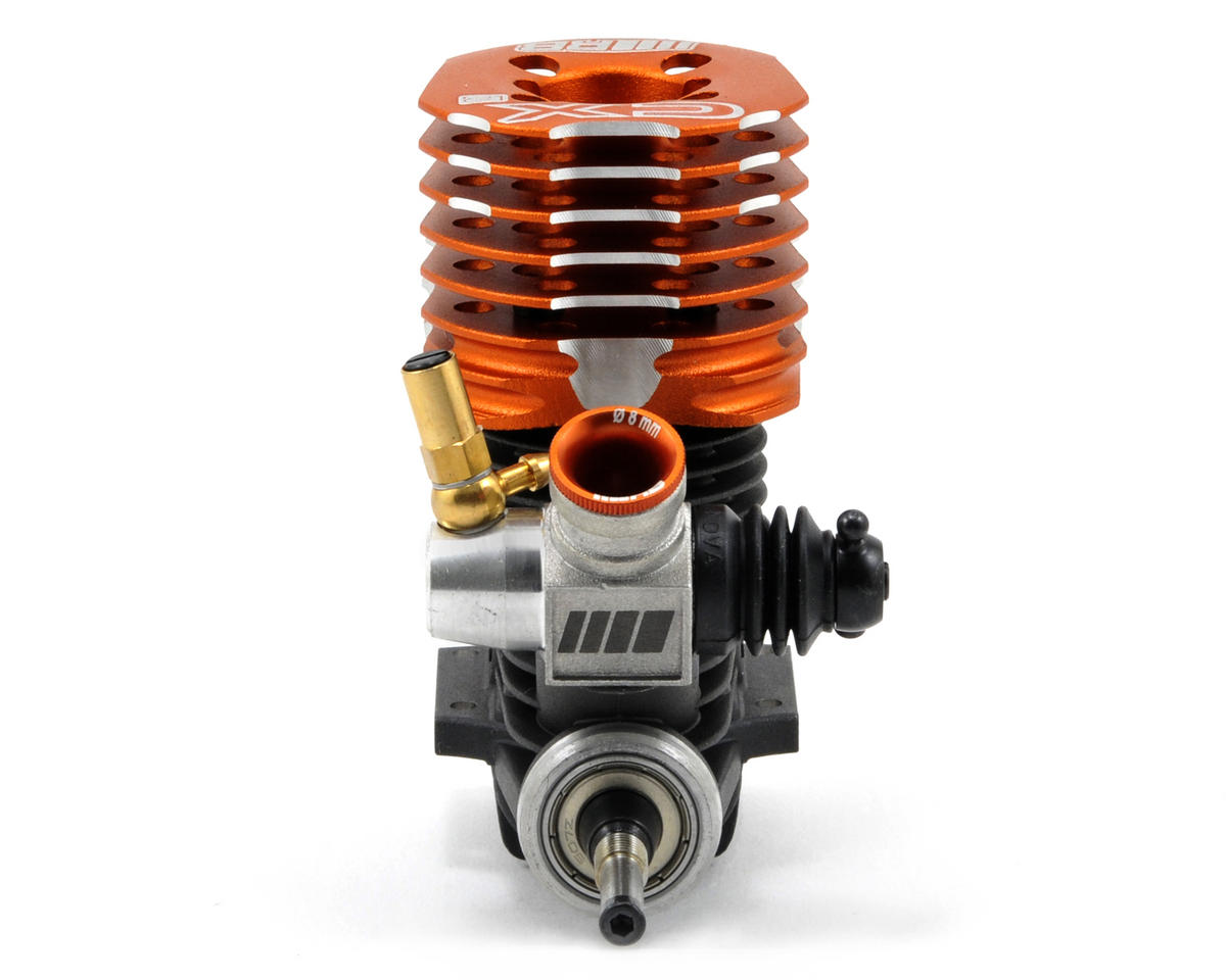 RB Products CXR .21 9-Port Competition On Road Engine w/2092 Tuned Pipe (Turbo Plug)