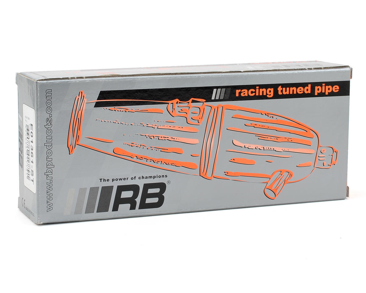 RB Products 2-Chamber Tuned Pipe w/Manifold (Black)