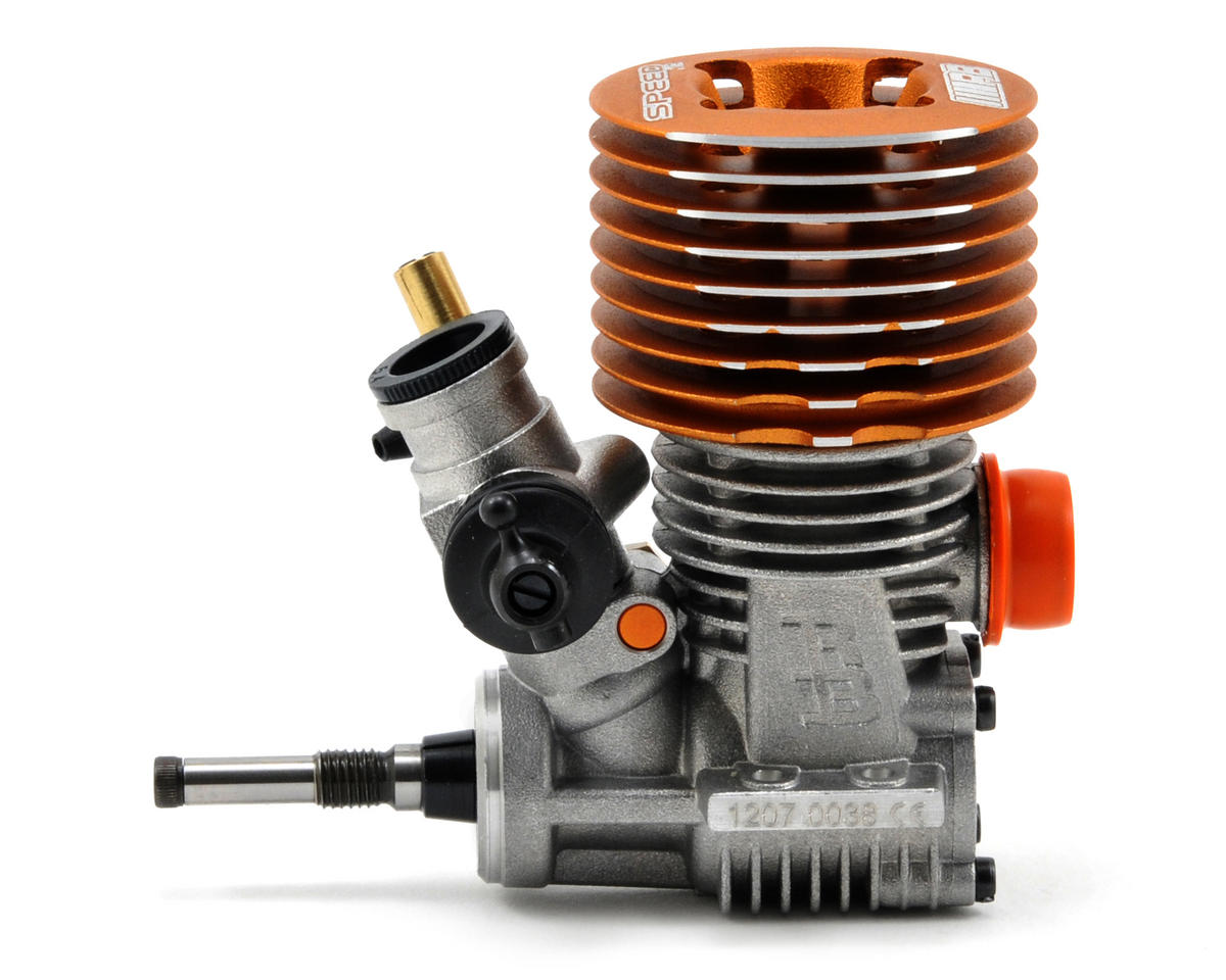 RB Products SPEED .12 3-Port On-Road Engine w/2668 In-Line Pipe (Turbo Plug)
