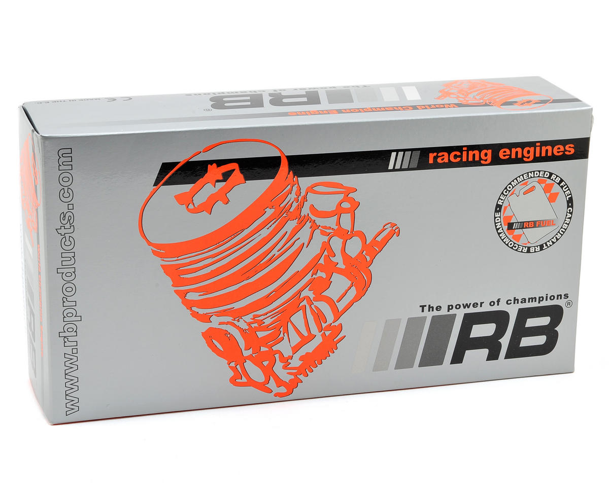 RB Products Speed 12 3-Port Touring Car Engine w/2668 In-Line Pipe (Turbo Plug)
