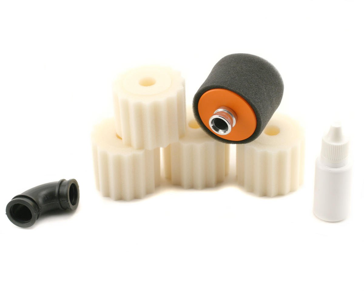 RB Products 1/8 Off Road Air Filter Set w/Extra Foams (1)