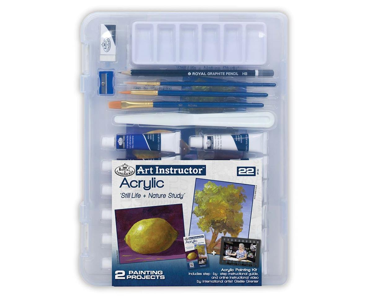 Royal Brush Manufacturing AIS-ACR3103 Small Acrylic Clearview
