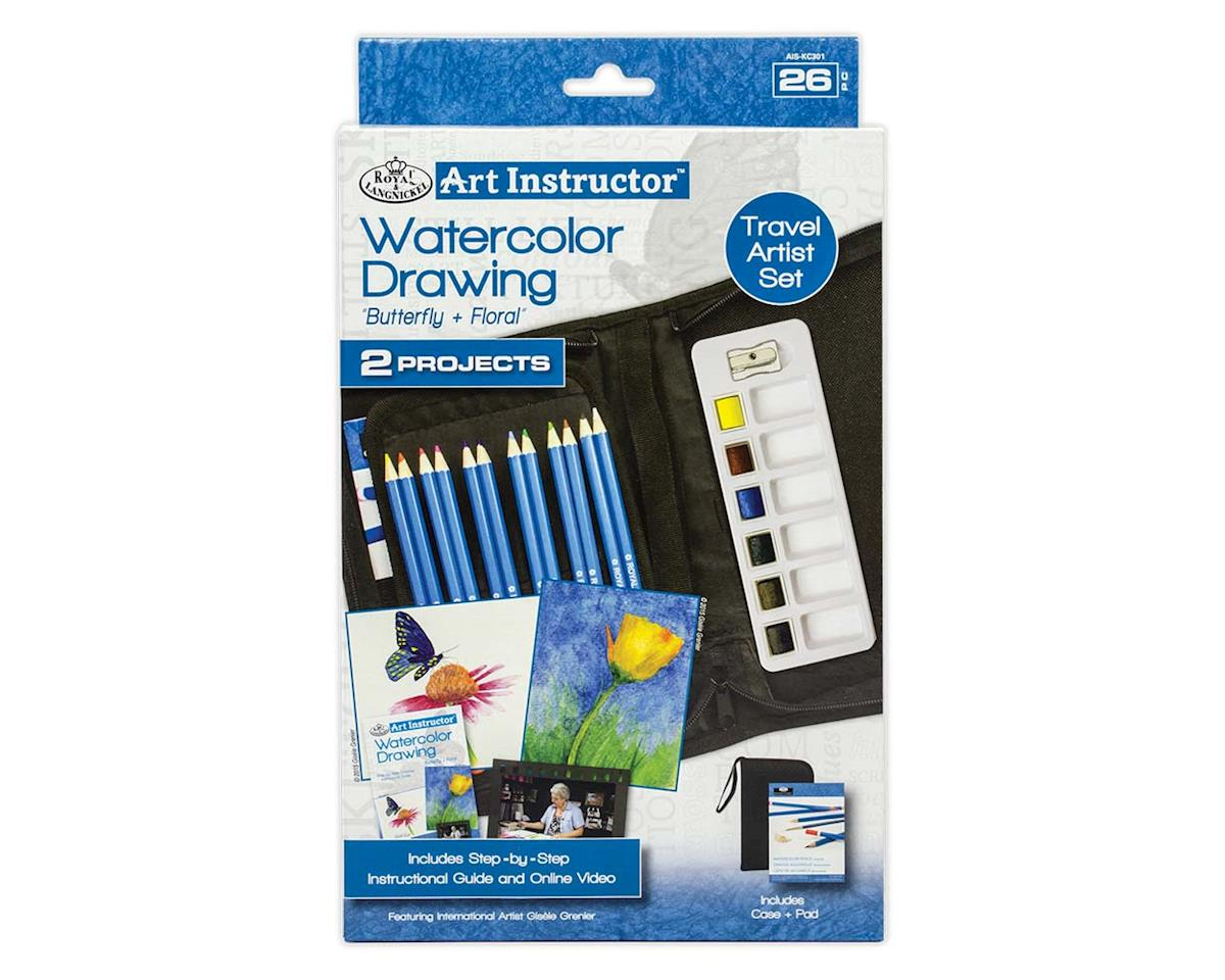 Royal Brush Manufacturing AIS-KC301 Art Instructor W/C Pencil KNC
