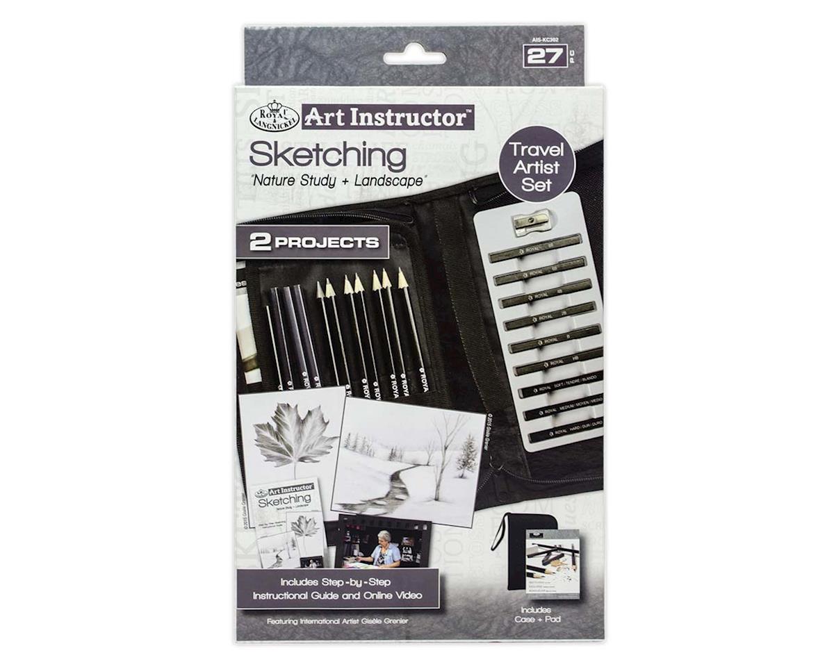 Royal Brush Manufacturing AIS-KC302 Art Instructor Sketching KNC