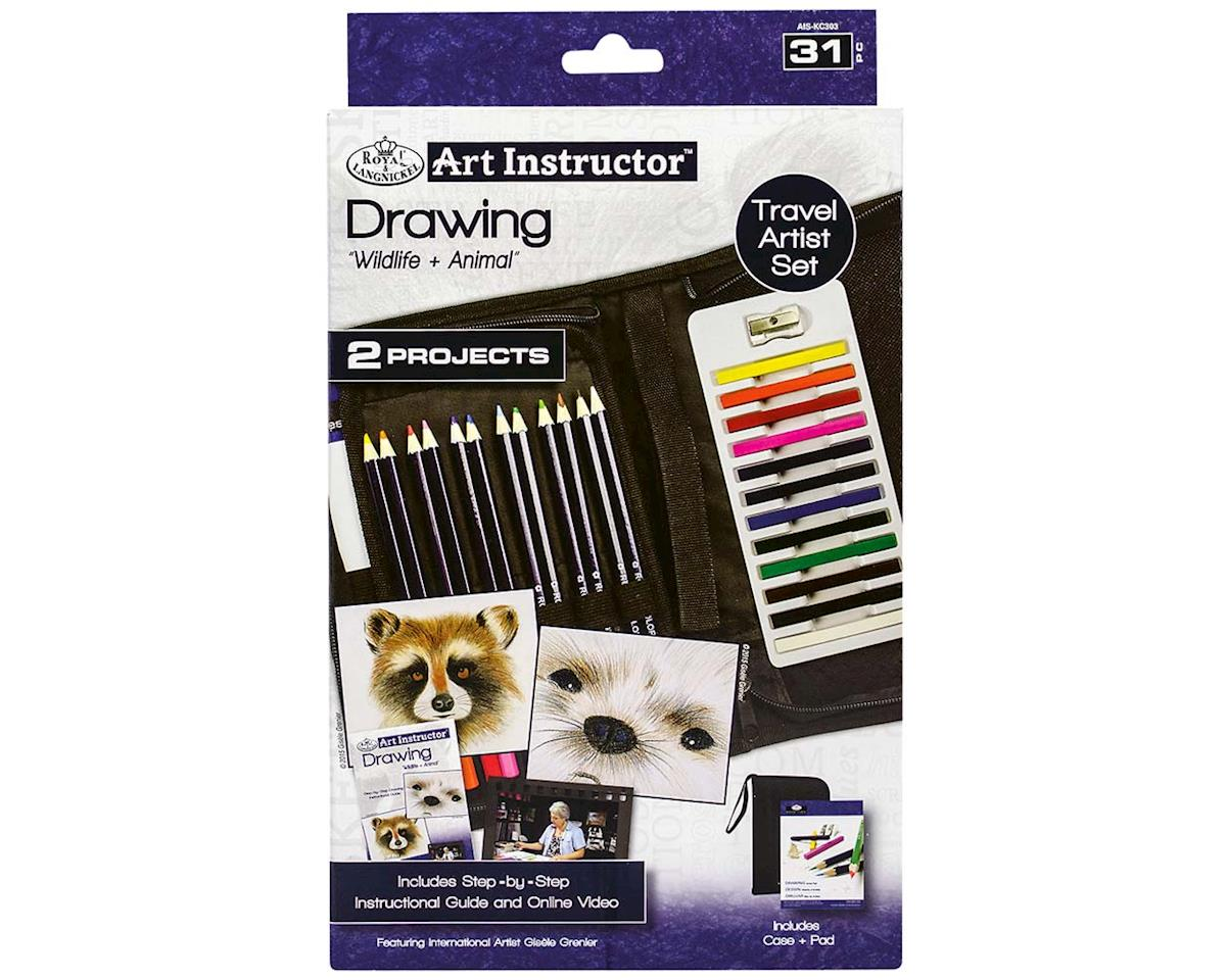 Royal Brush Manufacturing AIS-KC303 Art Instructor Drawing KNC