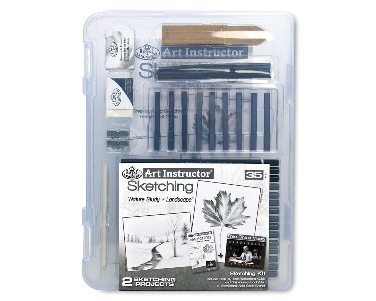 Royal Brush Manufacturing AIS-SKT3105 Small Sketching Clearview