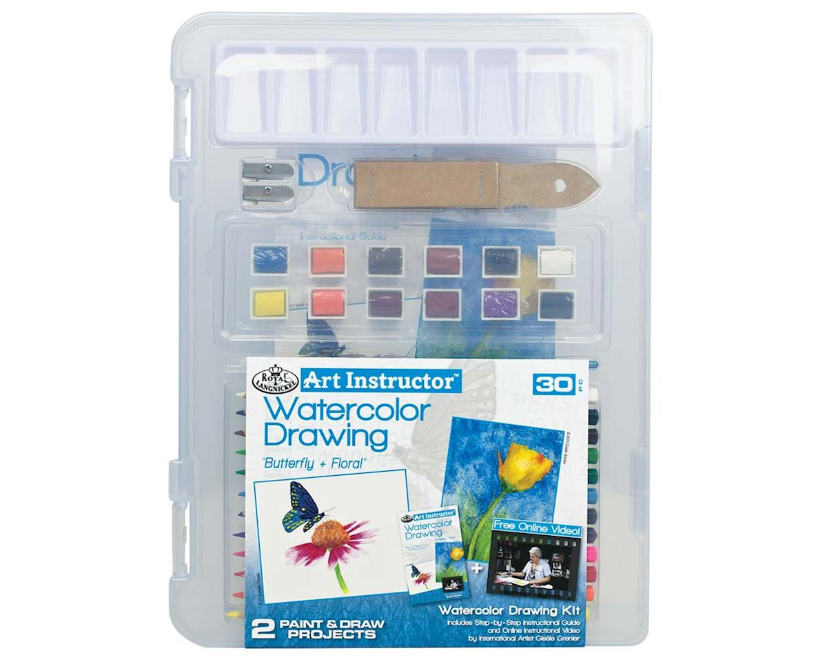 Royal Brush Manufacturing AIS-WPN3106 Small Watercolor Pencil Clearview
