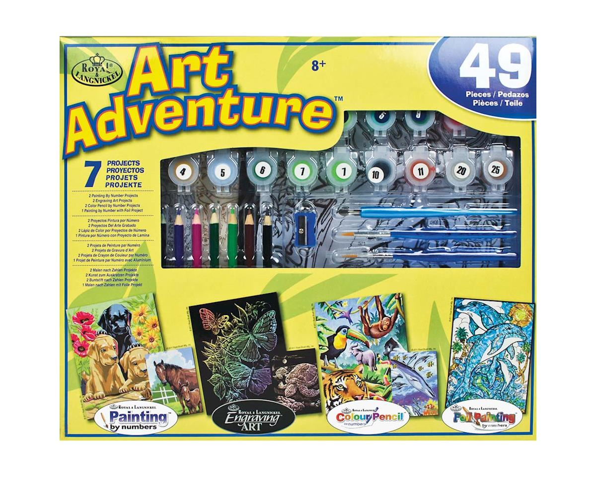 Royal Brush Manufacturing AVS-101 Art Adventure Set 49pc Activity