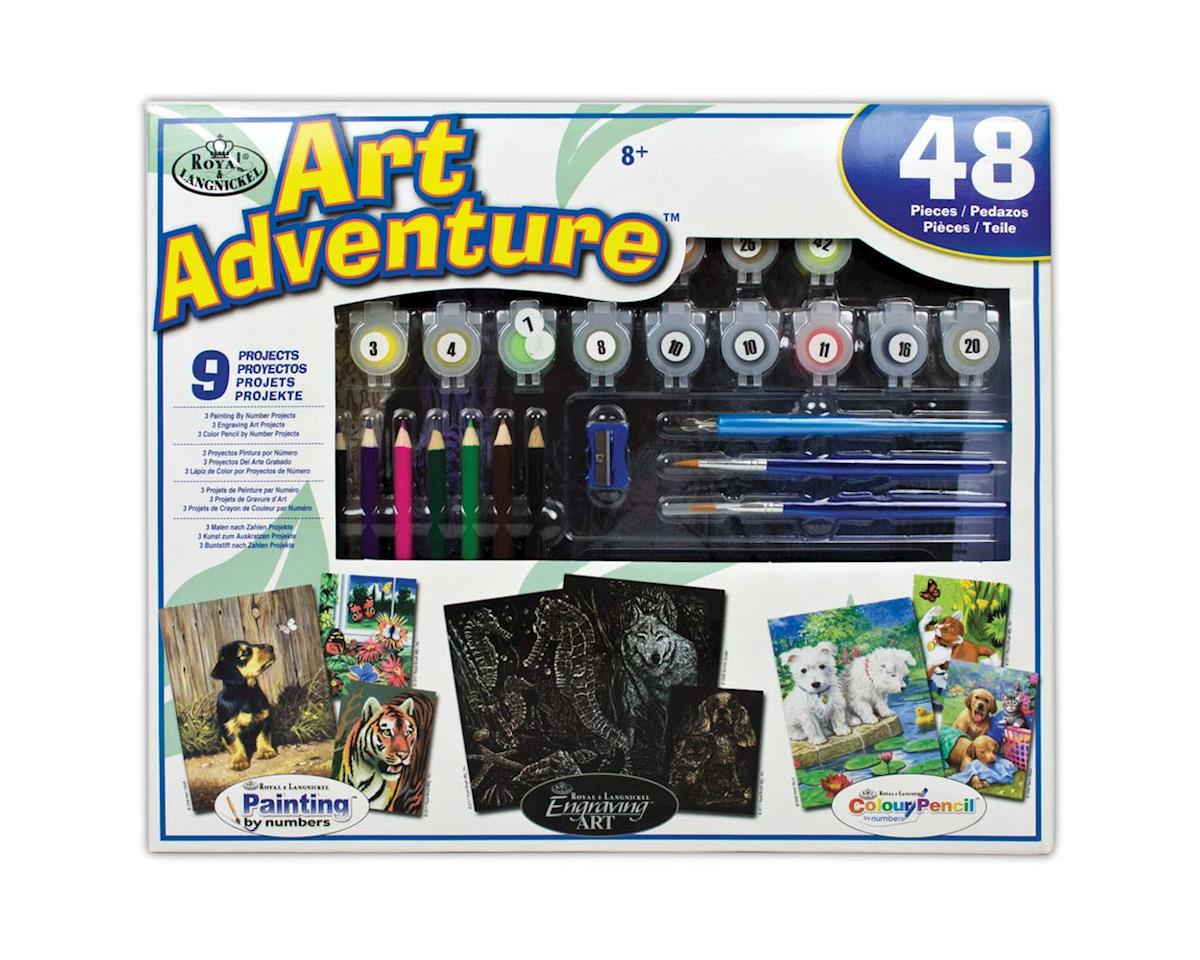 Royal Brush Manufacturing AVS-102 Art Adventure Set 48pc Activity