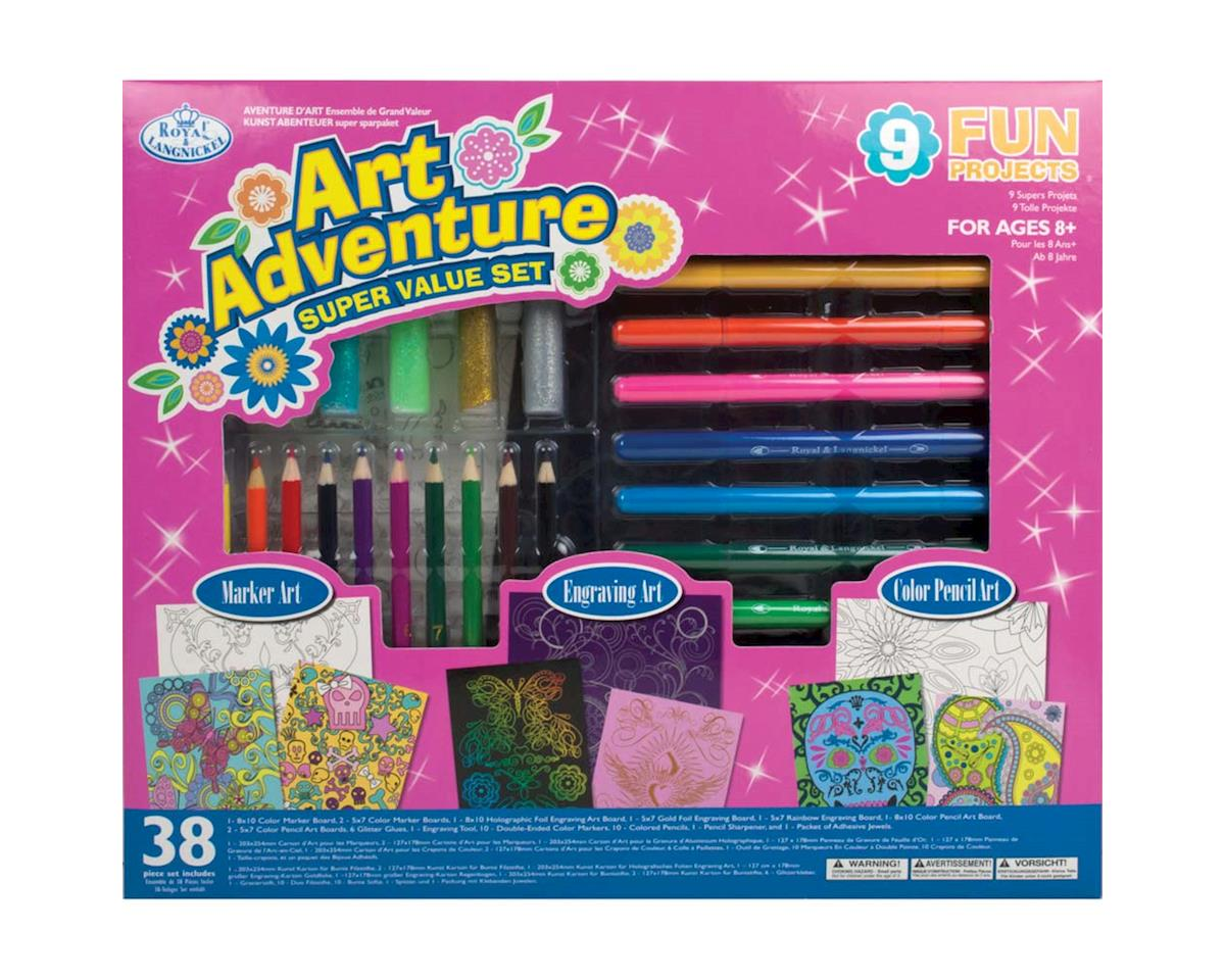 Royal Brush Manufacturing AVS-110 Art Adventure 9 Project Set