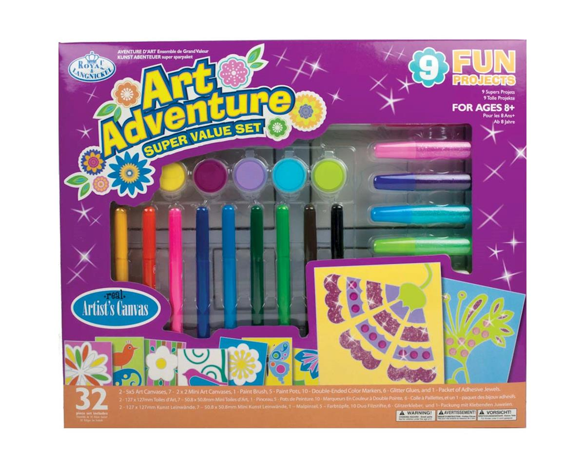 Royal Brush Manufacturing AVS-120 Art Adventure 9 Project Kit