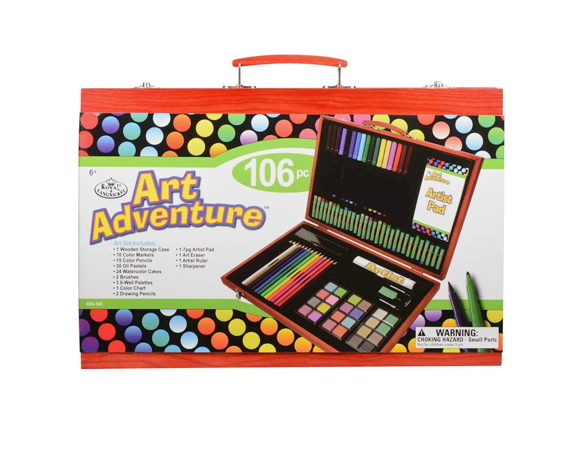 Royal Brush Manufacturing AVS-544 Art Adventure 106pc Set