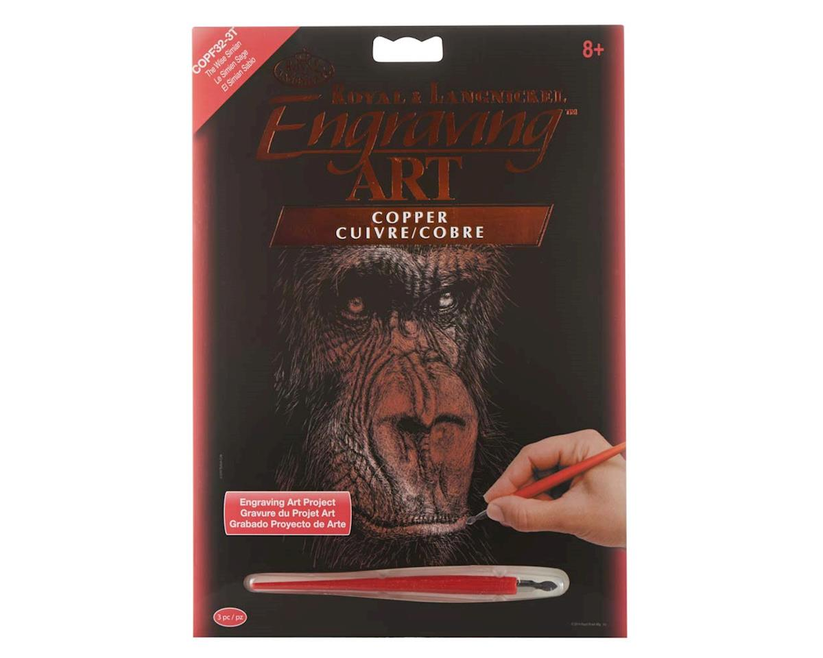 Royal Brush Manufacturing COPF32 Copper EA The Wise Simian
