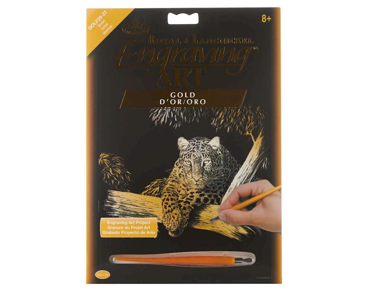 Royal Brush Manufacturing GOLF29 Gold EA Spotted