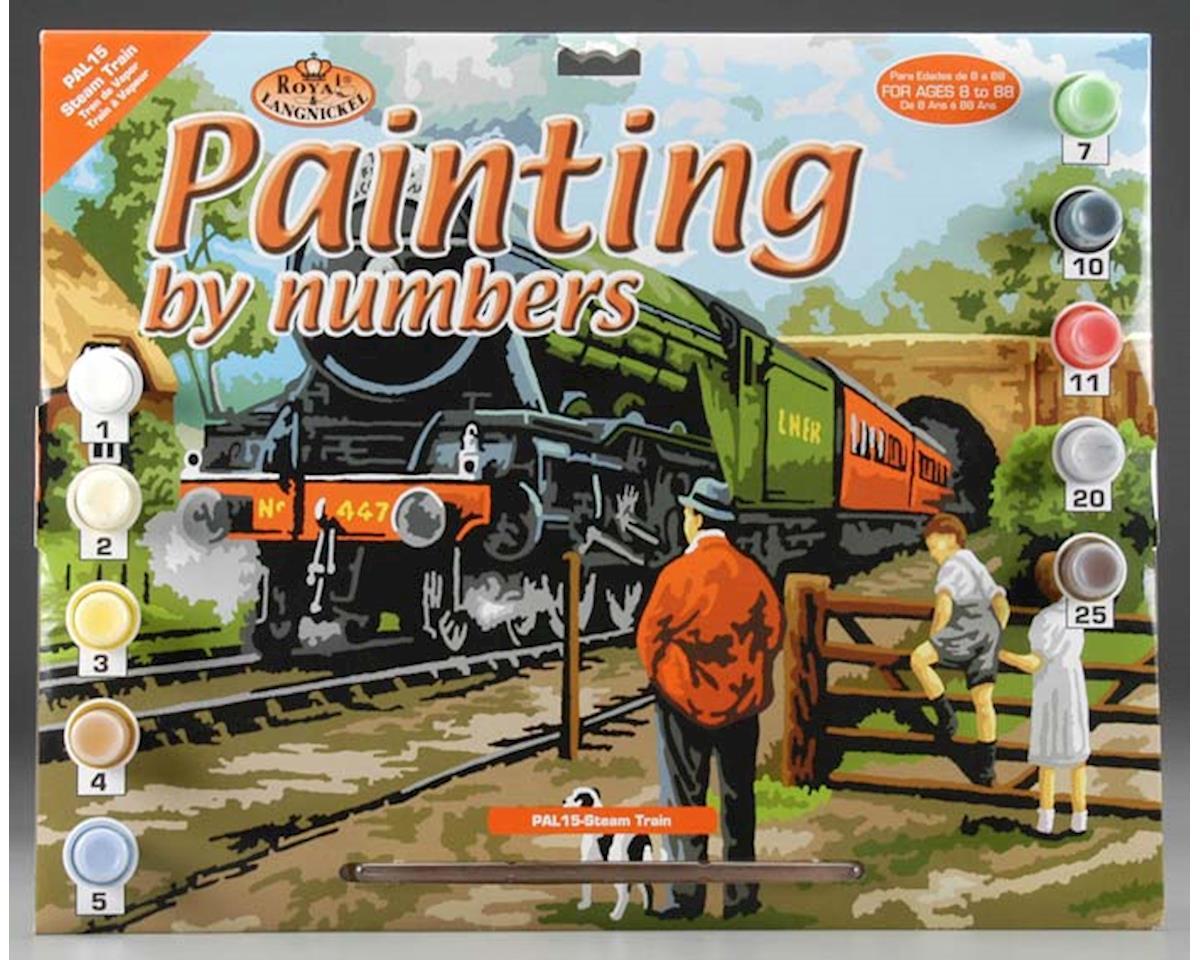 Royal Brush Manufacturing PAL15 PBN Steam Train 15x11-1/4