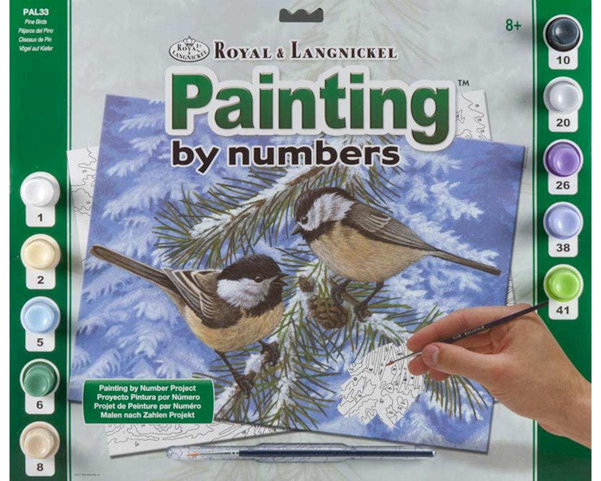 Royal Brush Manufacturing PAL33 Adult PBN Pine Birds