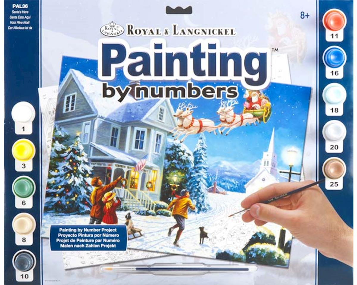 Royal Brush Manufacturing PAL36 Adult PBN Santa's Here