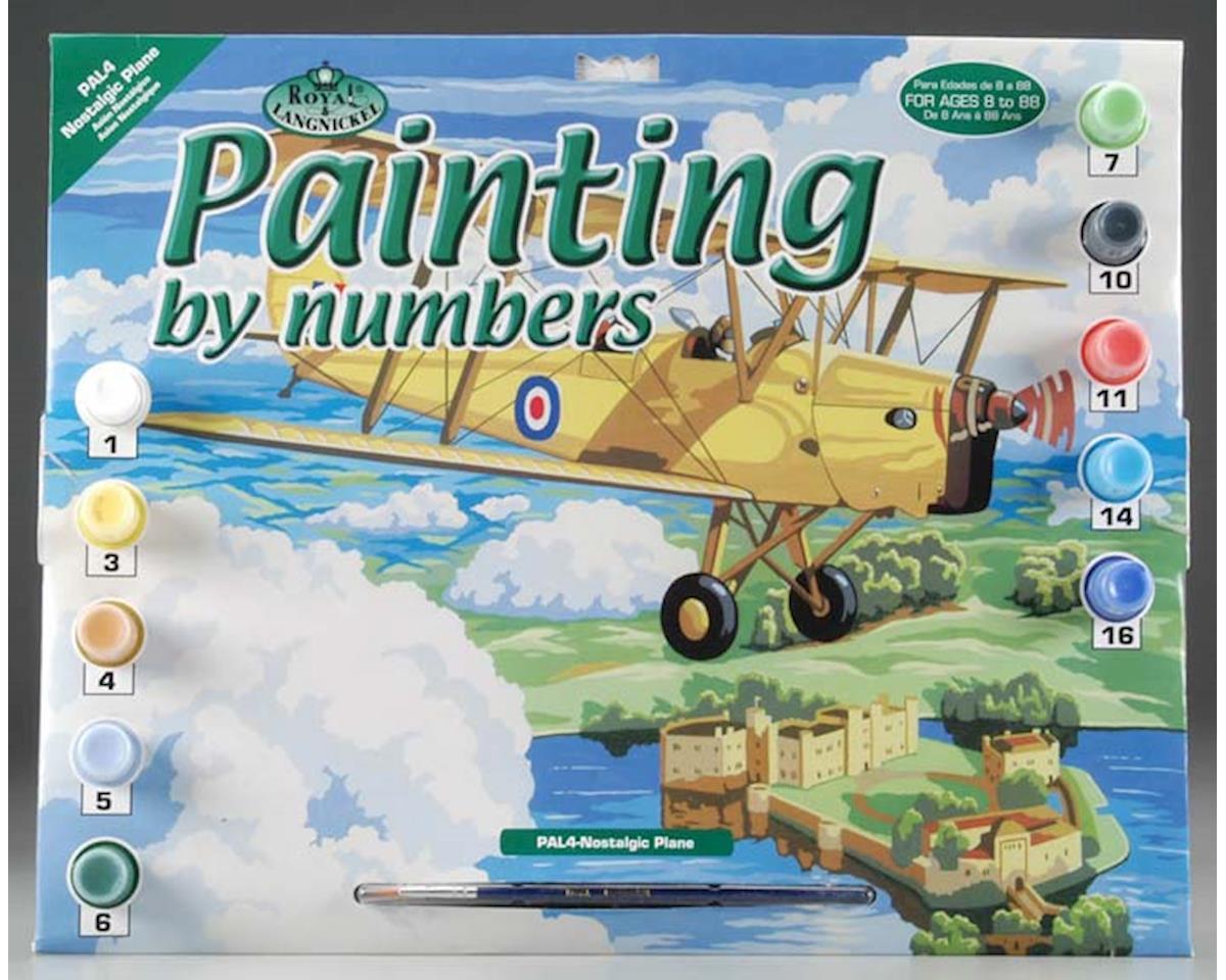 Royal Brush Manufacturing PAL4 PBN Nostalgic Plane 15x11-1/4