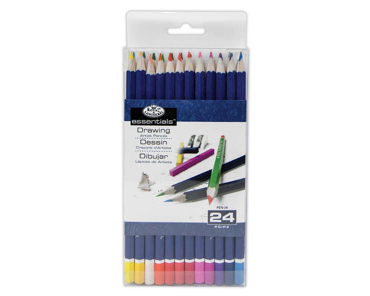Royal Brush Manufacturing 24Pc Color Pencils