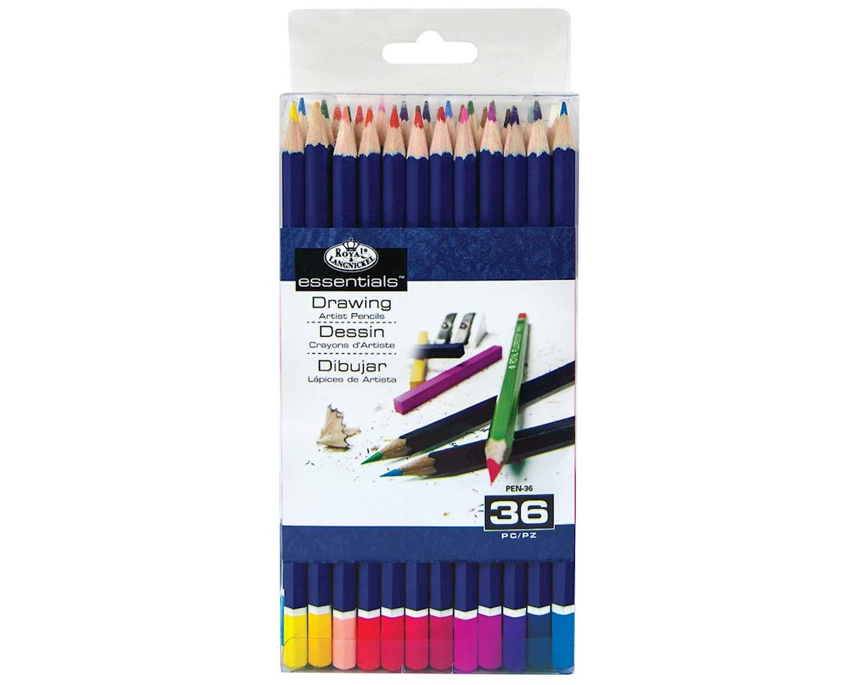 Royal Brush Manufacturing 36Pc Color Pencils