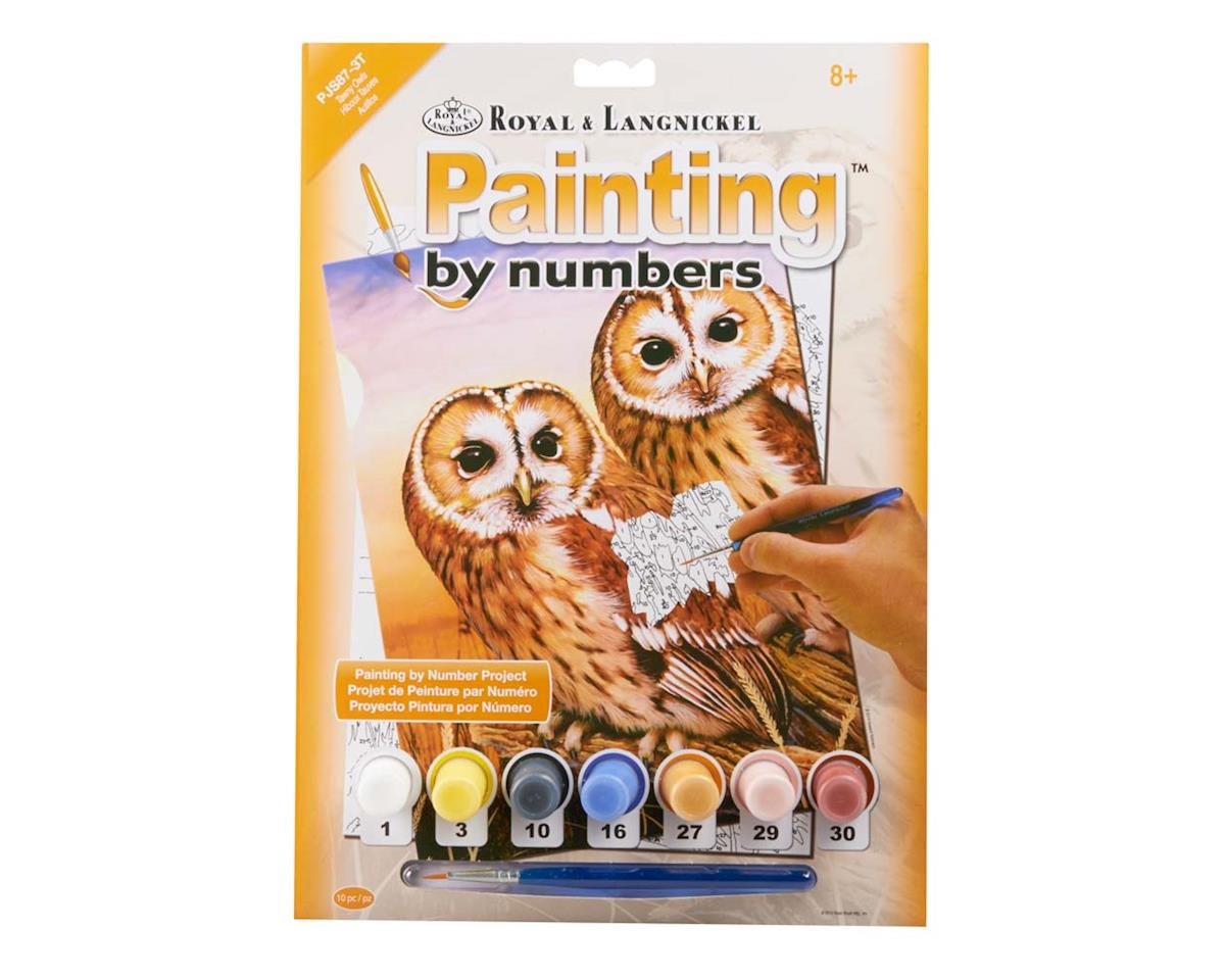 Royal Brush Manufacturing PJS87 PBN JR Small Tawny Owls