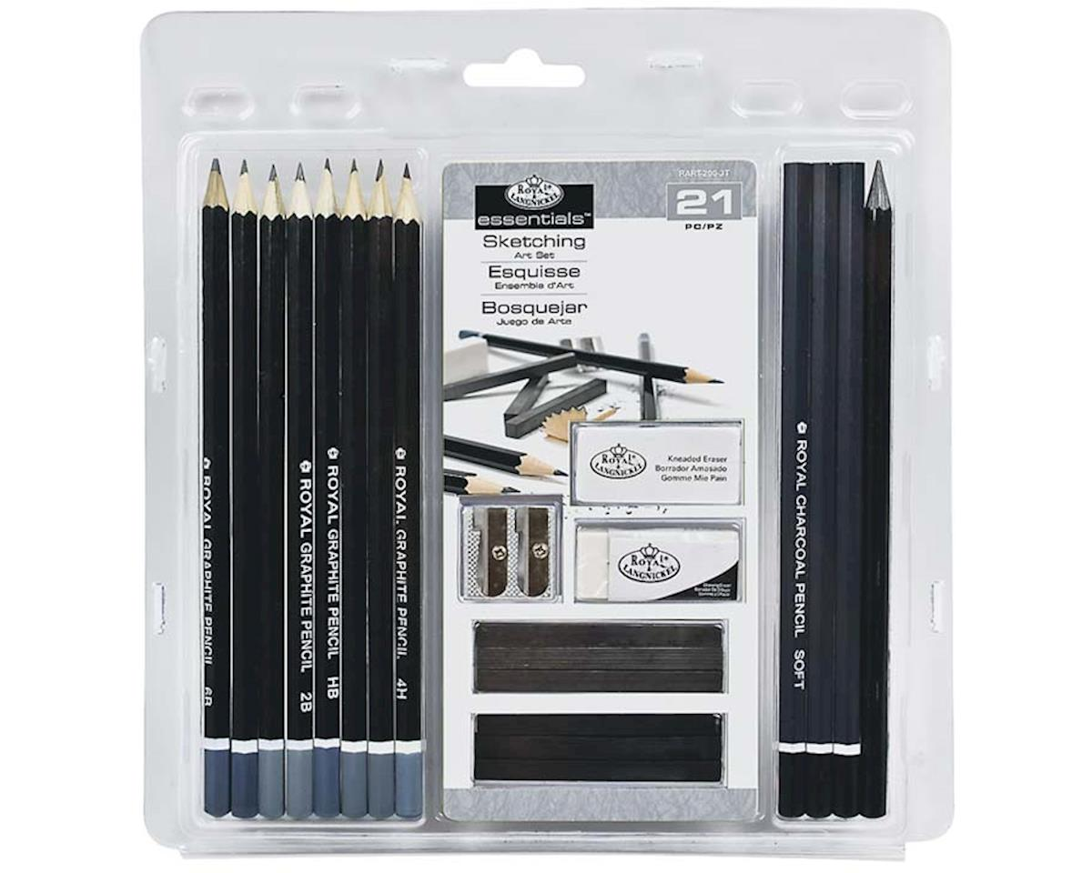 Royal Brush Manufacturing RART-200 21 Piece Sketching Set
